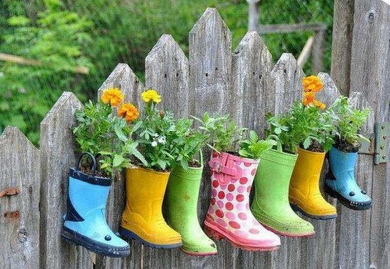 Идеи и поделки для сада