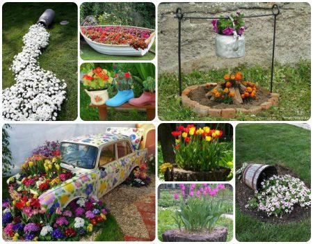 Сад, огород, дача все самое яркое и интересное своими руками