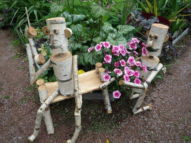 Сделанное своими руками для сада