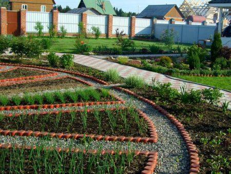 Красивый огород своими руками: красивые грядки