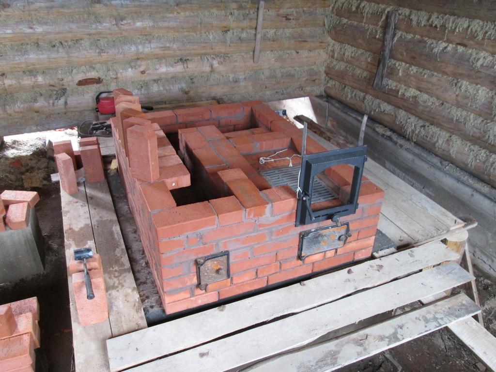 Дача строим печь своими руками 66