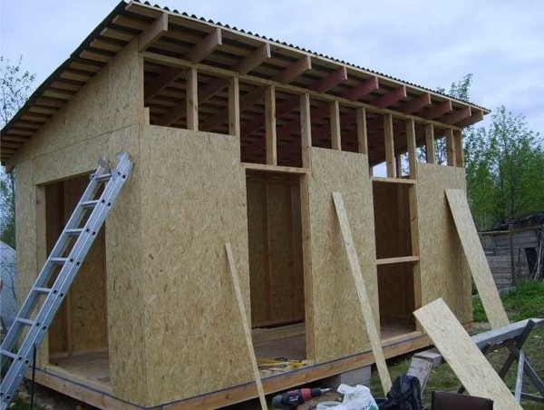 Как построить сарай своими руками из досок дешево
