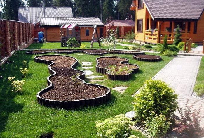Ландшафтный дизайн огорода своими руками фото