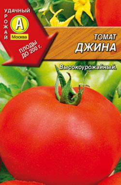 Томат Джина: характеристика и описание сорта
