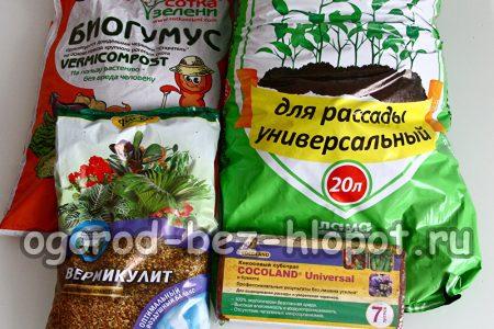 Состав грунта для выращивания рассады