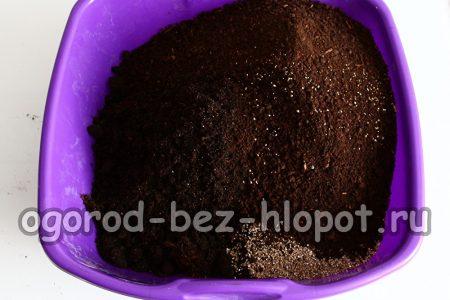 добавить биогумус к почвенной смеси