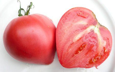 Томат Розовое сердце: характеристика и описание гибридного сорта с фото