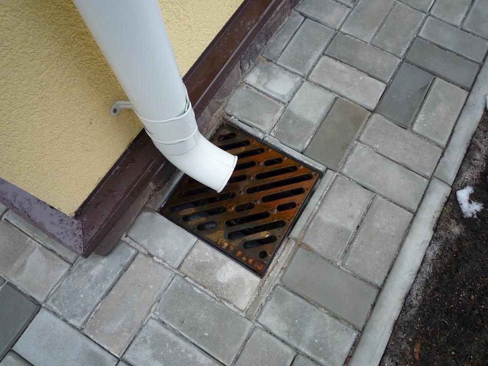 Дождеприемник для ливневой канализации