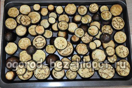 запекание баклажан в духовке