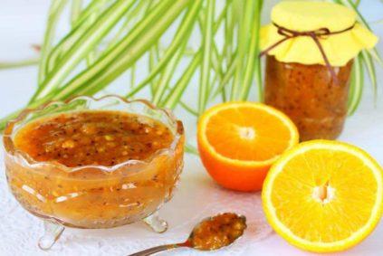 варенье с крыжовника с апельсинами