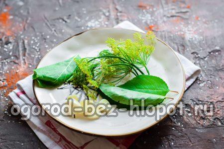 Зелень для заготовки