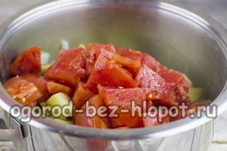 Добавим помидоры