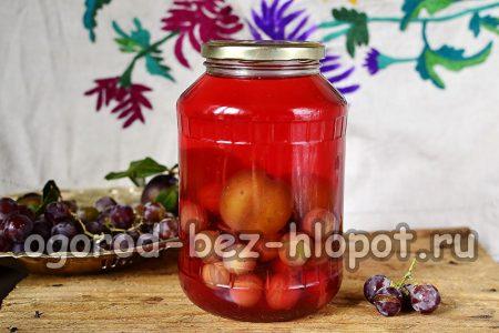фруктовый компот на зиму