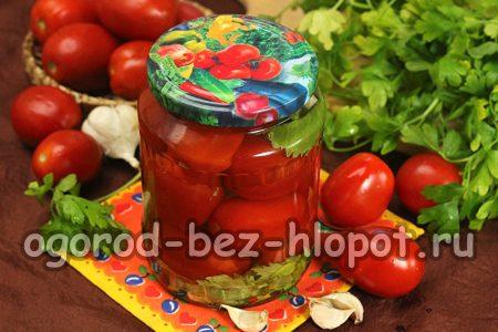 помидоры с сельдереем