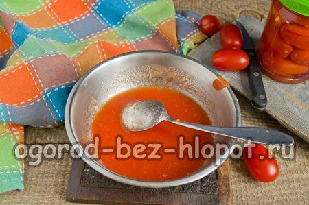 Протертые томаты
