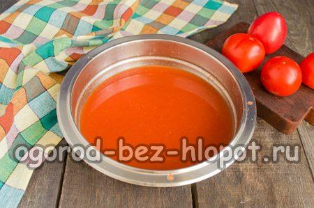 томатная заливка