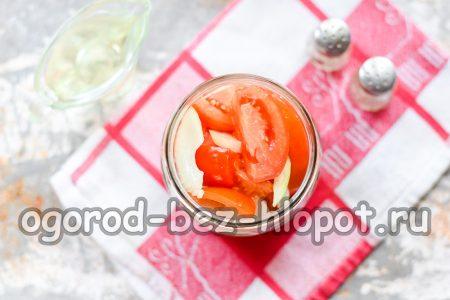 укладка помидор