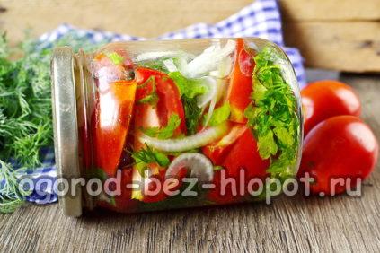 помидоры по-польски