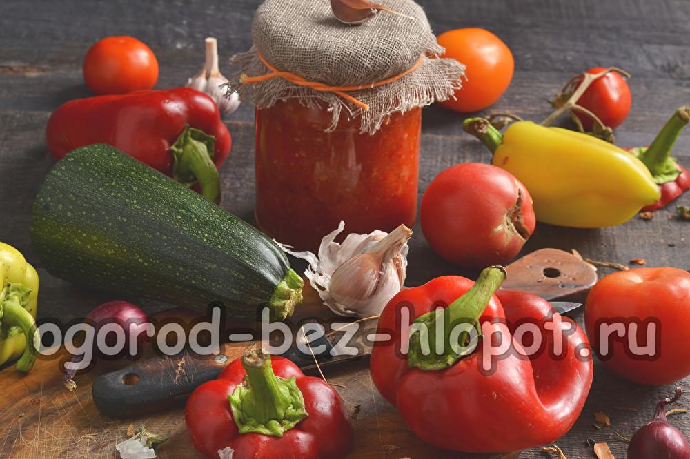 помидоры в заливке