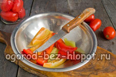 почистить перец