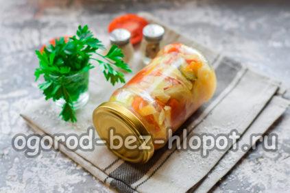 Салат Кубанский с капустой