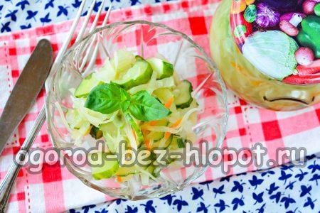 готовый салат из капусты на зиму
