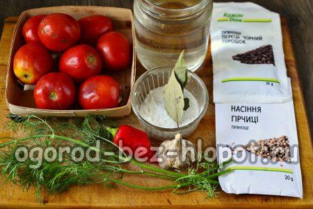 помидоры для посола