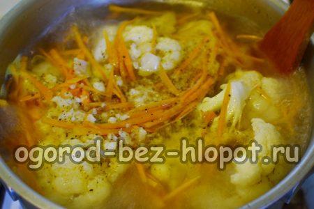 маринуем капусту и морковку