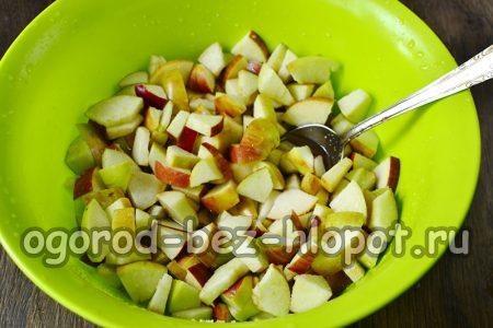 подождать когда яблоки пустят сок
