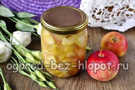 яблочное варенье готово