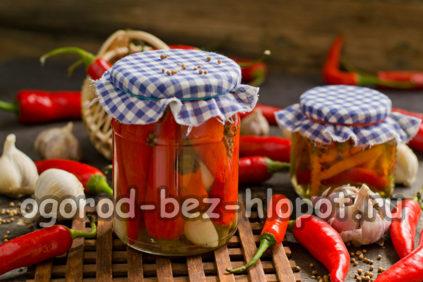 маринованный острый перец