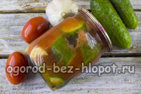 готовые огурцы в томате