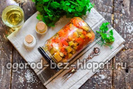 Овощное рагу на зиму - пальчики оближешь!