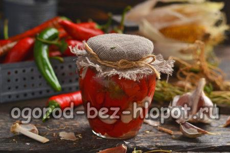 готовый перец чили