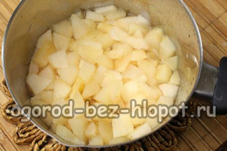 яблоки сварились