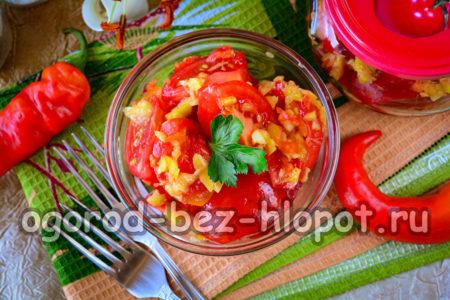 готовые помидоры по-корейски