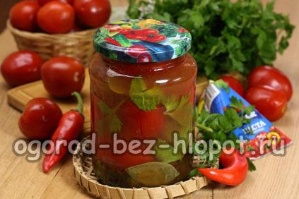 помидоры в томатной пасте