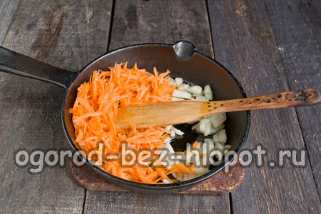 овощи пассеровать