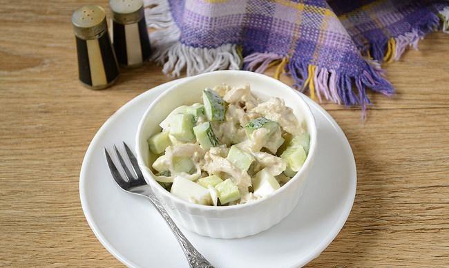 Салат из оленьих рожек