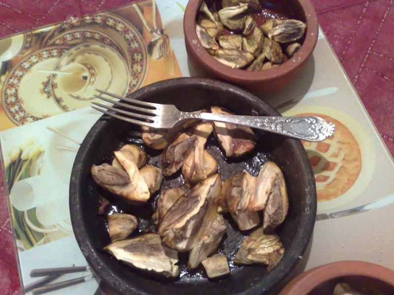 Блюдо из мухомора Цезаря