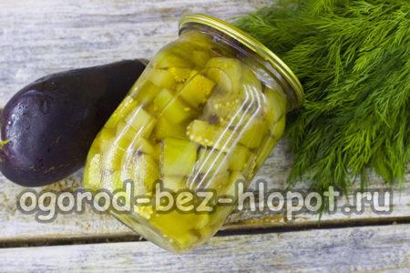 баклажаны со вкусом грибов готовы