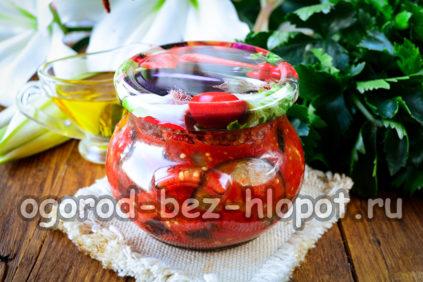баклажаны в томате