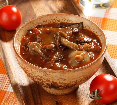 Маринованные грибы в томате
