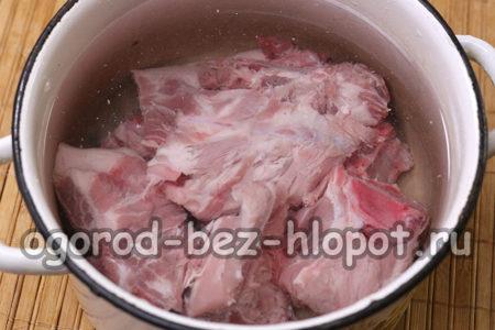 мясо сварить