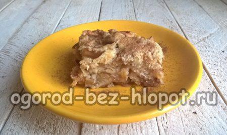 готовый насыпной пирог