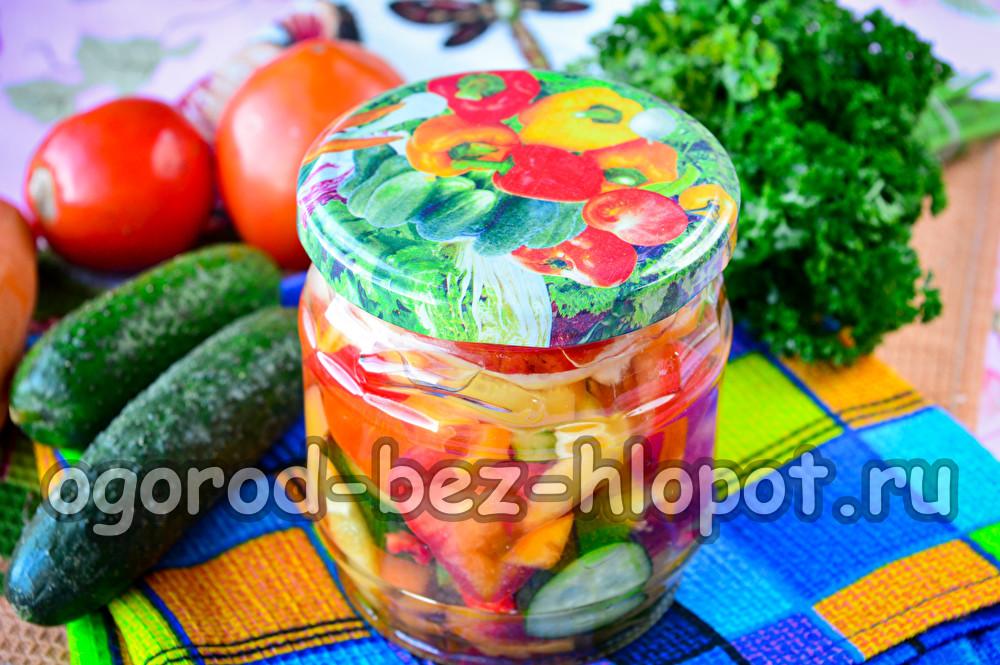 салат Донской