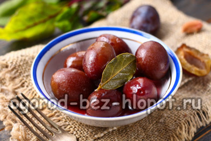 сливы как оливки