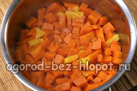 тыкву и апельсин сварить