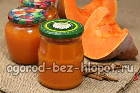 тыквенно-апельсиновый сок готов