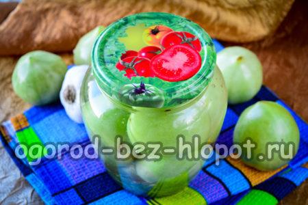 зеленые помидоры готовы